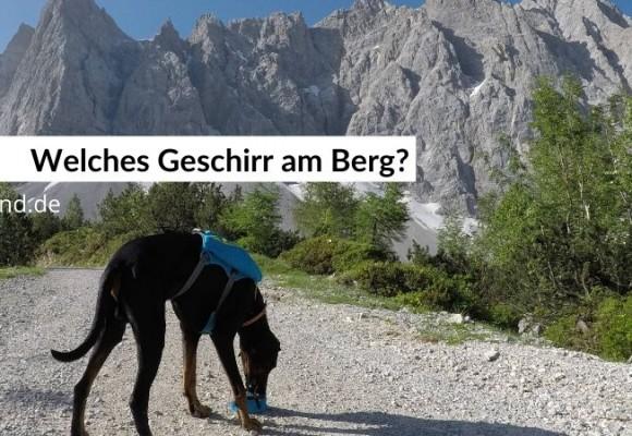 Welches Geschirr eignet sich zum Berg-Wandern?