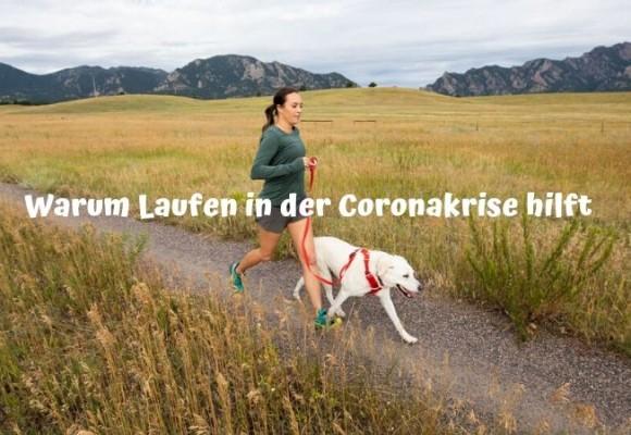 Laufen gerade in der Coronakrise